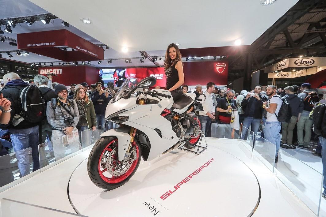 Ducati SS la mas bonita del Eicma expuesta