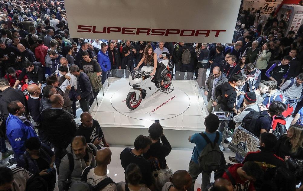 La Ducati SS elegida por el público de Milán