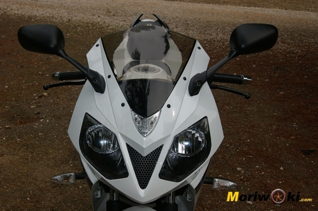 Daelim roadwin 125 r frontal