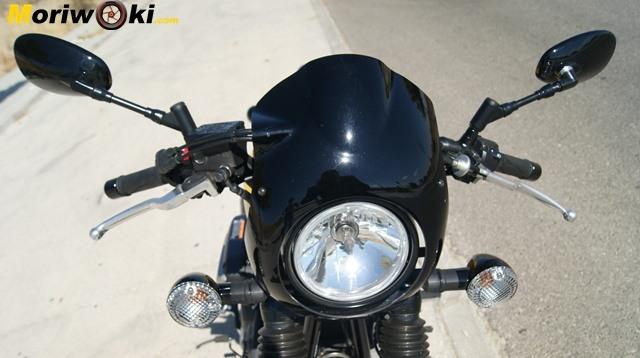 Yamaha XV 950 60 Aniversario frontal superior