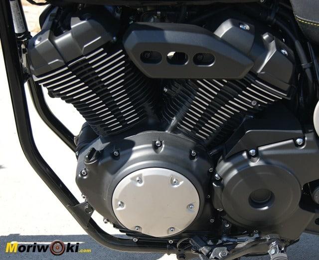 Yamaha XV 950 60 Aniversario motor