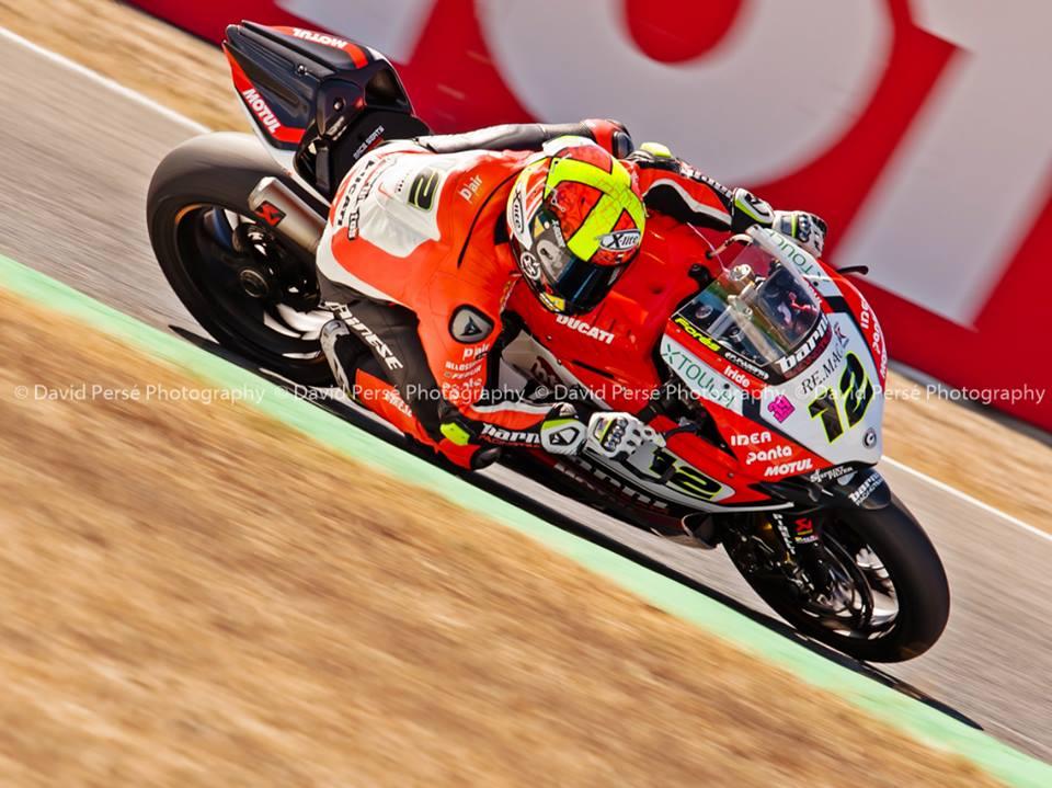 Xavi Forés renueva para 2017 con el Barny Racing Team colgado