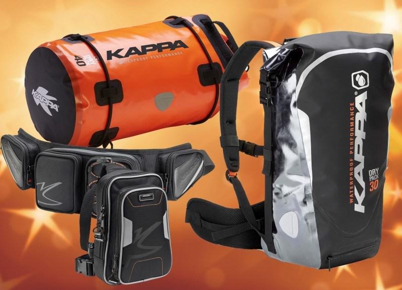 Kappa: Cambia las colonias por mochilas y bolsas blandas