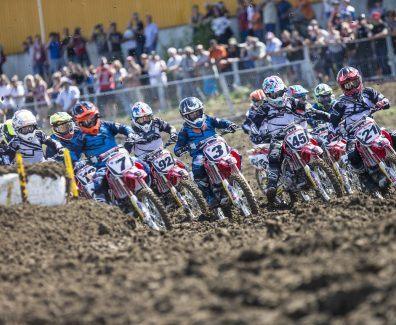 campeonato europa CBf 150R carrera