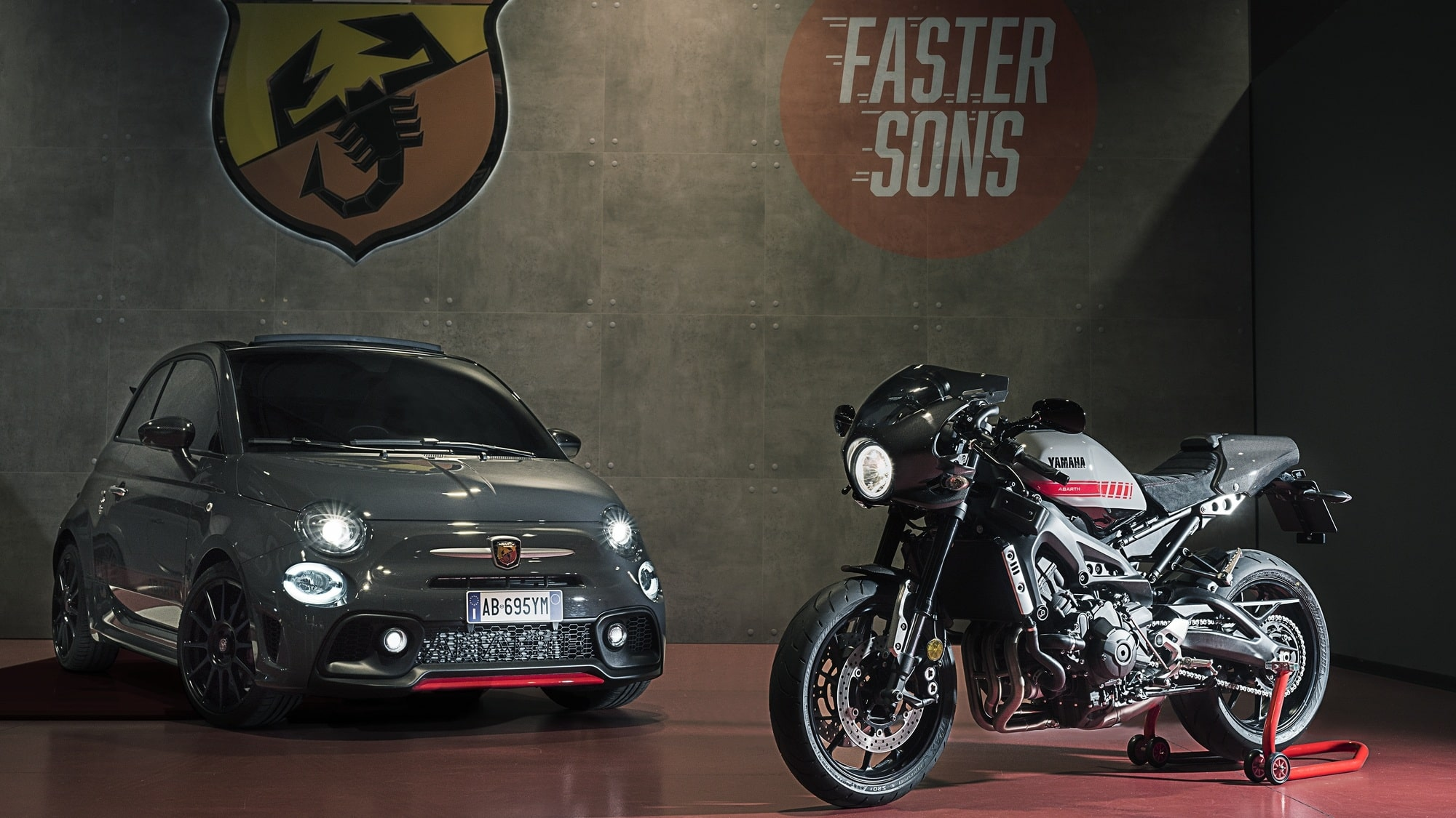 Yamaha XSR 900 Abarth coche y moto