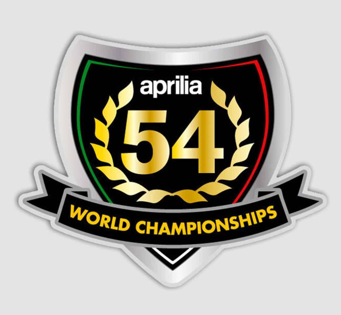 Aprilia RSV4 motoGP escudo