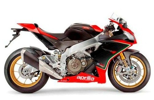 Aprilia RSV4 motoGP full bike