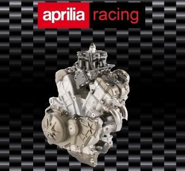 Aprilia RSV4 motoGP motor full bike