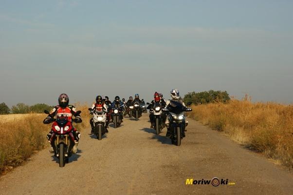 Curso conducción moto 18 marzo 2017 FK1 grupo en tierra