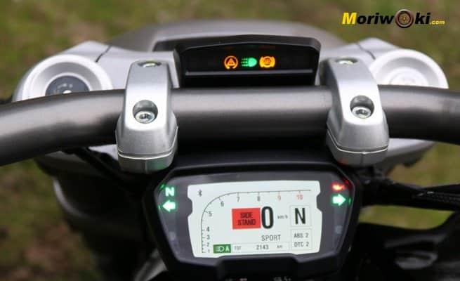 Ducati XDiavel 2016 cuadro