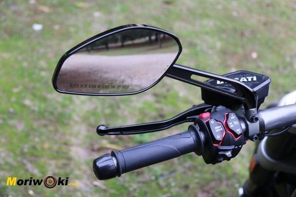 Ducati XDiavel 2016 espejo