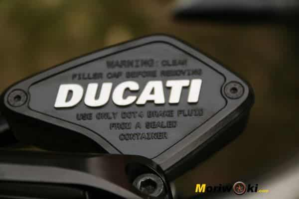 Ducati XDiavel 2016 freno deposito