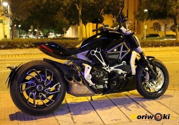 Ducati XDiavel 2016 noche