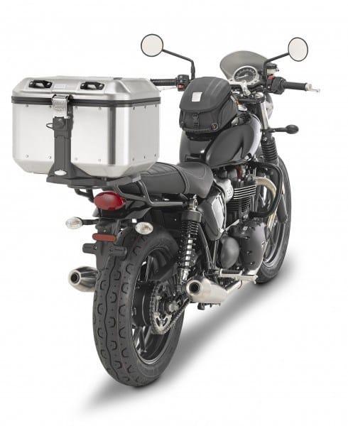 GIVI Navidad baúl con moto
