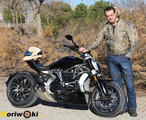 Curso de conducción moto 18 marzo 2017 Tomás