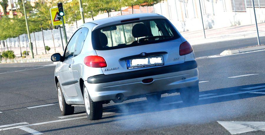 Velocidad limitada contaminación 206