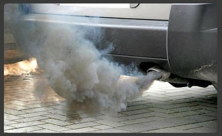 Velocidad limitada contaminación humo negro