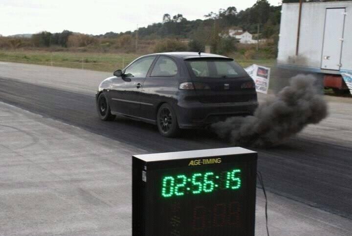Velocidad limitada contaminación ibiza
