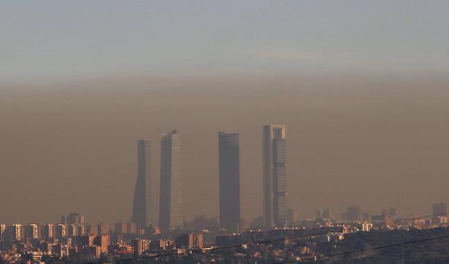Velocidad limitada contaminación panoramica