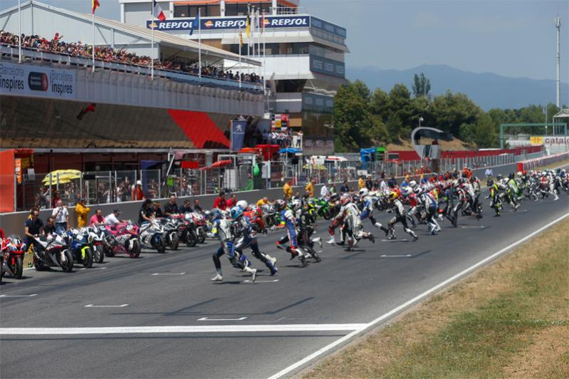 24 H Montmeló 2017 i too have a dream salida carrera