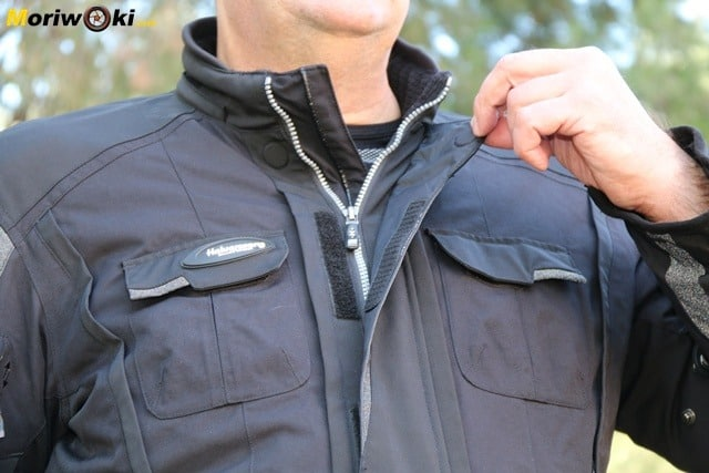 Halvarsson Prima Prince chaqueta cuello abierto