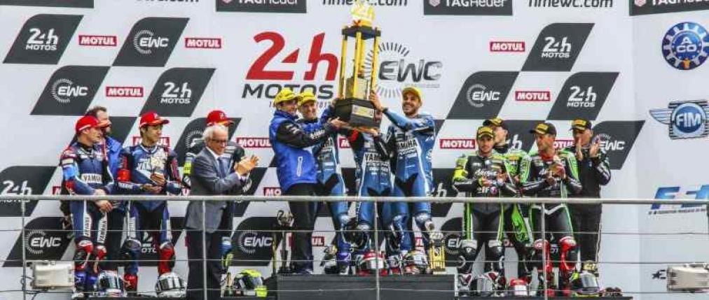 24 h Le mans 2017 podio moto