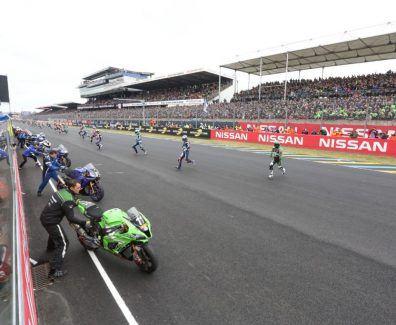 24h, Mans, Moto, 2017, Depart