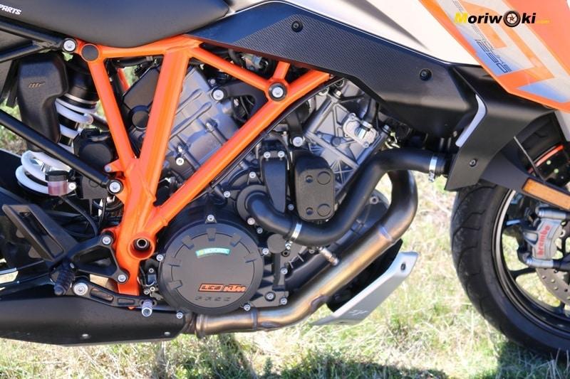 KTM Super Duke 1290 GT Motor