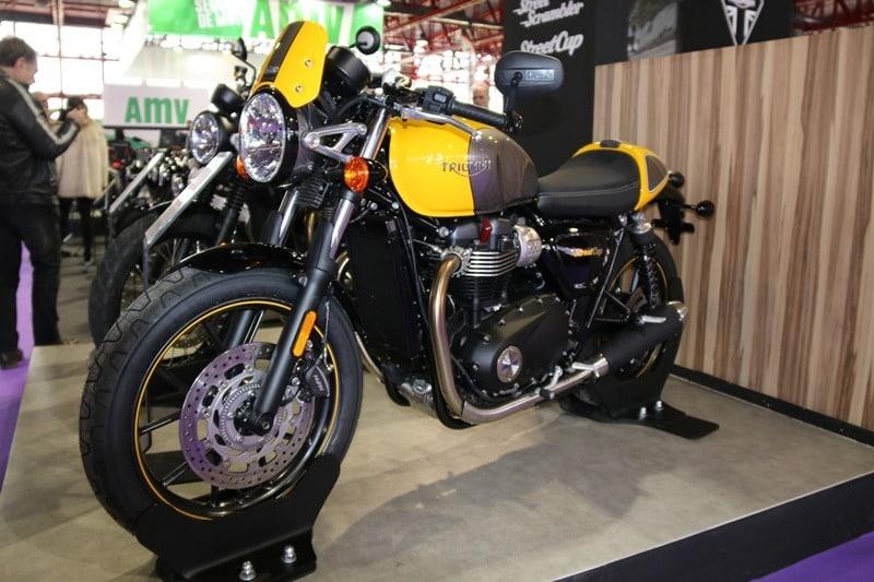 MotoMadrid 2017  Triumph neoclásica