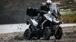 Quadro presenta la versión trail de su scooter ¡con 4 ruedas!