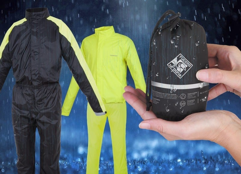 Soluciones de bolsillo Tucanourbano para la lluvia