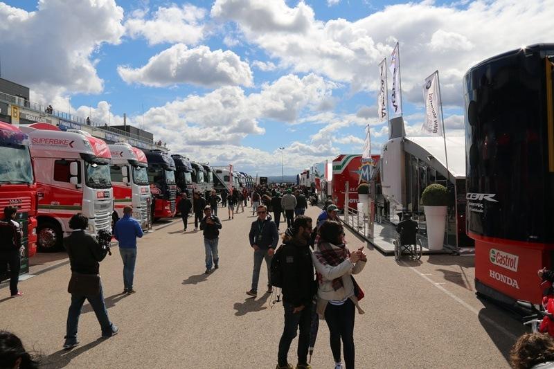 motorland wsbk 2017 paddock