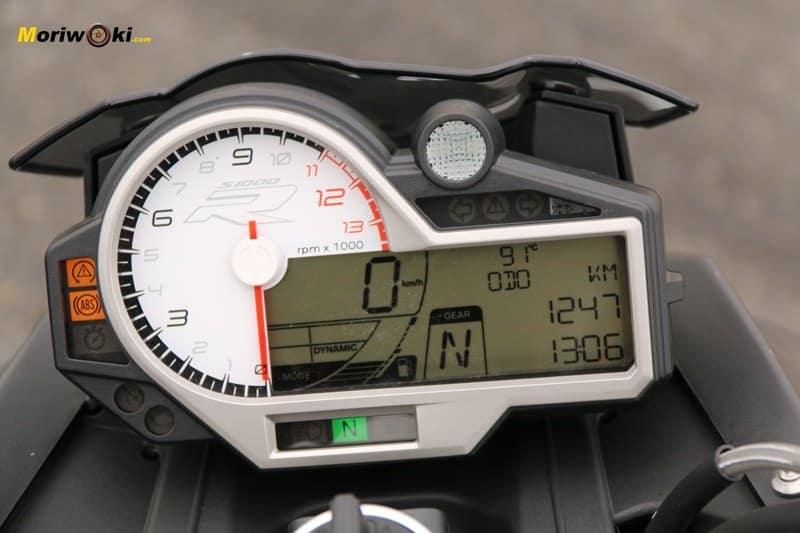 BMW S1000R cuadro