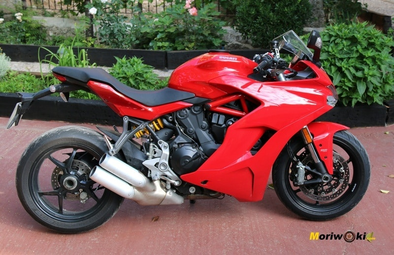 Ducati Super Spor primer plano