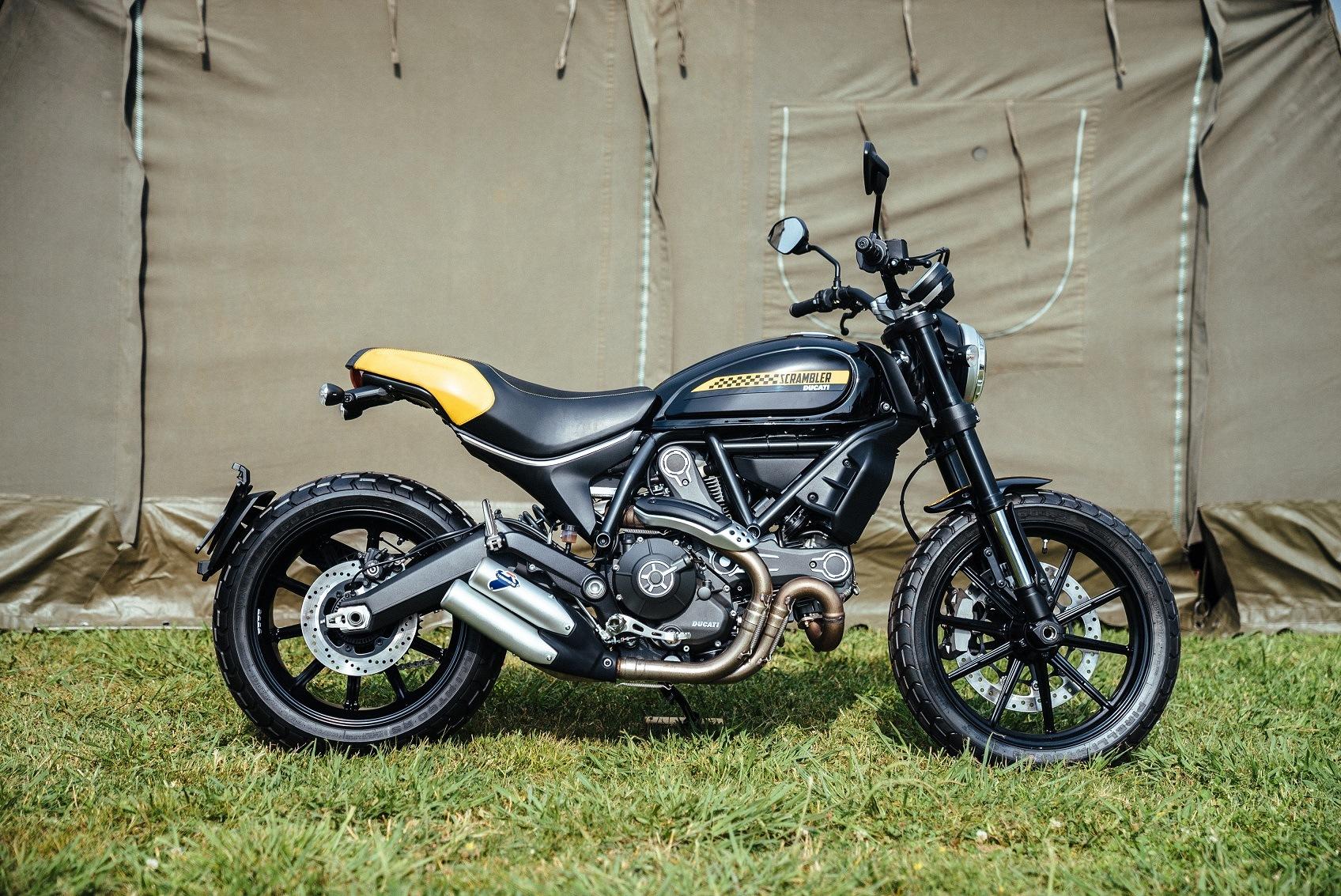 Ducati presenta dos modelos inéditos de su serie Scrambler