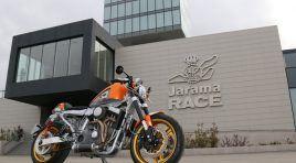 Volando sobre una Harley en El Jarama