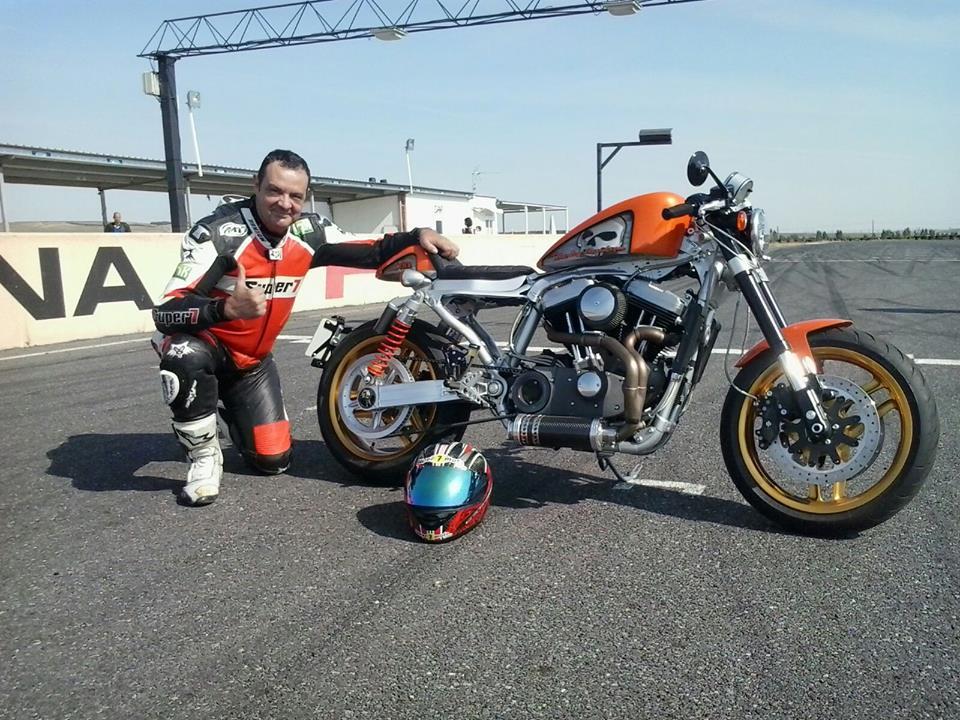 Harley en El Jarama 25