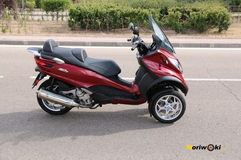 El Piaggio MP3 LT 500 Bussines en las mejores motos de 3 ruedas.