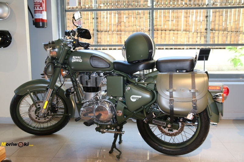 Royal Enfield Madrid Militar