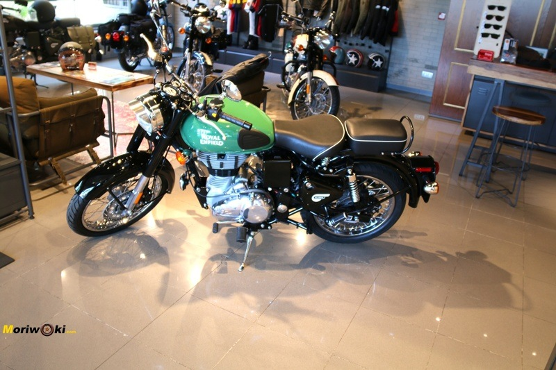 Royal Enfield Madrid verde