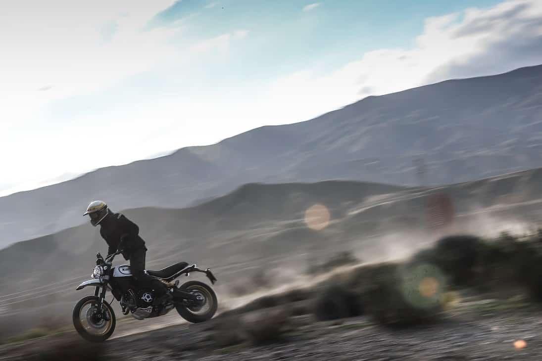 Ducati Lan of Joy en los Monegros 2