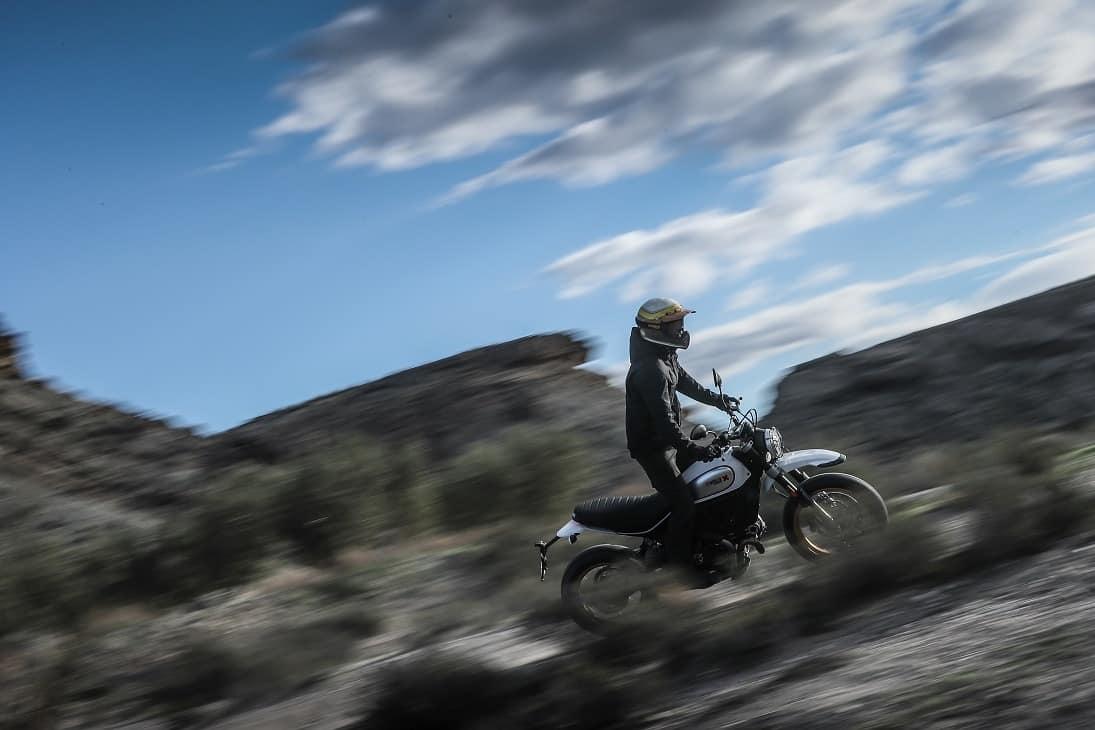 Ducati Scrambler en la Riding Man