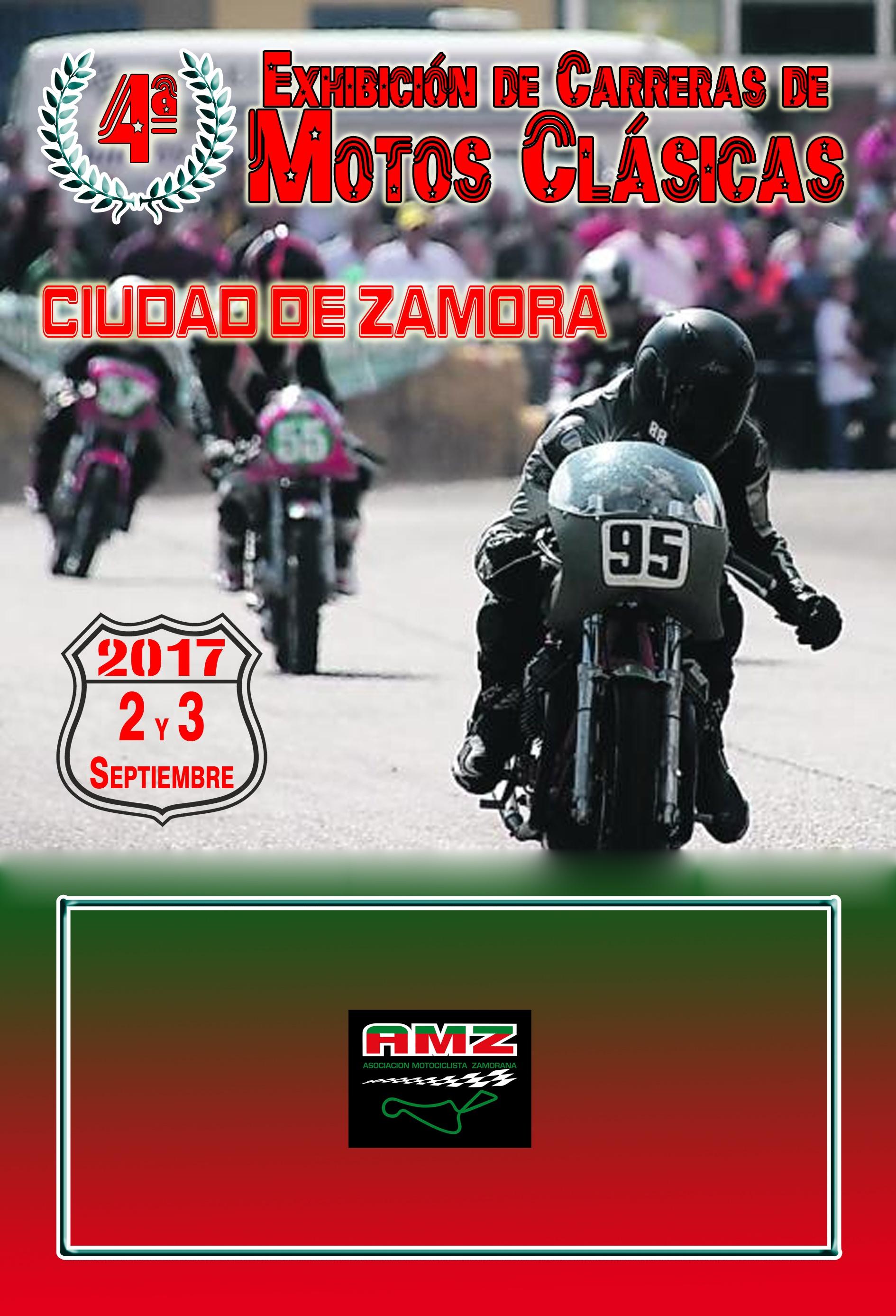 Exhibición Clásicas de carreras en Zamora
