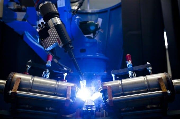 Akrapovic Responde Welding robot
