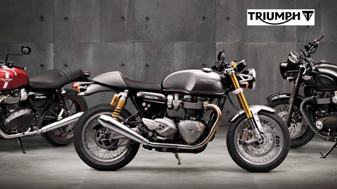 Triumph Bajaj triumph