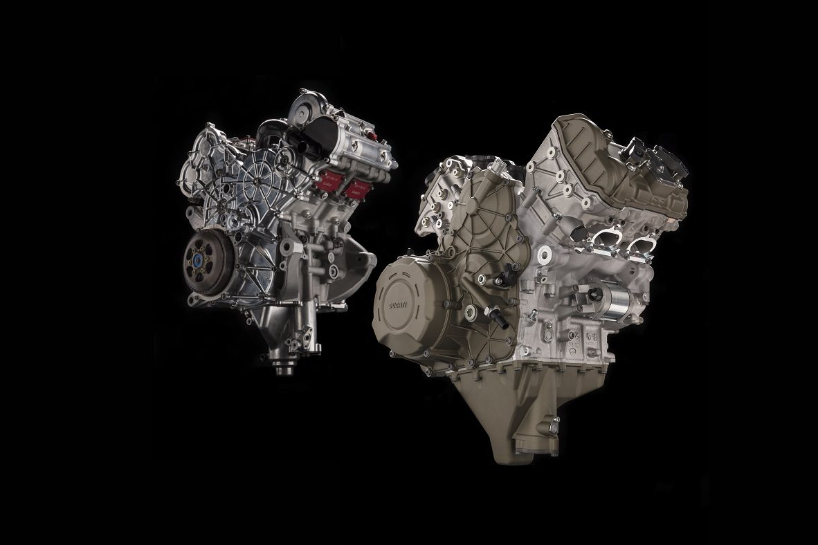 Ducati motor V4 Desmosedici