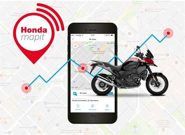 Honda mapit, conectividad completa