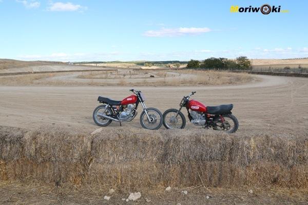 Dirt Track Madrid Curso las motos