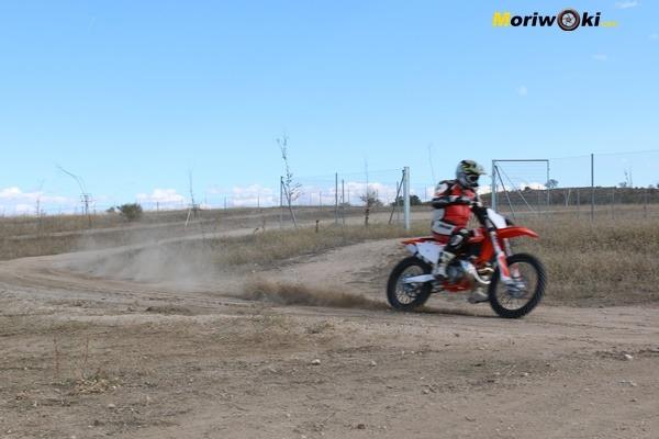 Dirt Track Madrid Curso KTM 250 SX IMG_8243
