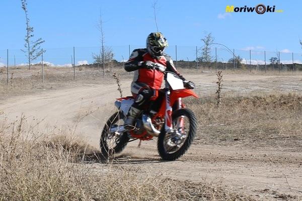 Dirt Track Madrid Curso KTM 250 SX IMG_8272